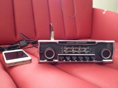 Radio becker europa 53mm.ABEV IPOD JPG
